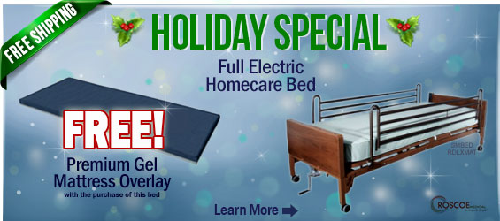 Roscoe Full-electric Bed Package
