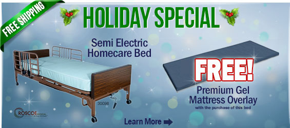Roscoe Semi-electric Bed Package