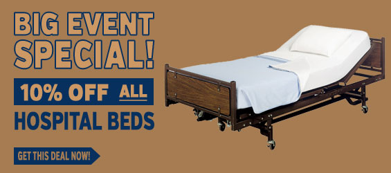Hospital Beds 10% off Big Event Special