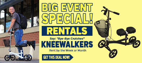 Knee Walker Rental Big Event Special