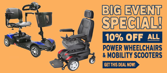 Power Mobility 10% off Big Event Special