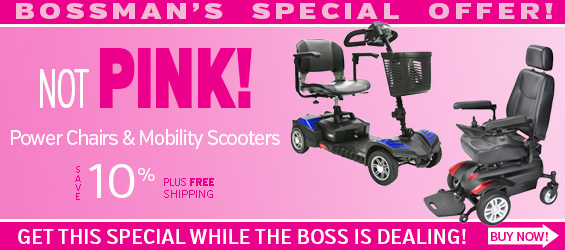 10% Off on any Power Wheelchair or Mobility Scooter through October 31