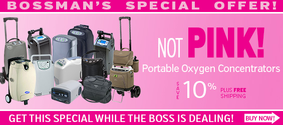 10% Off on any Portable Oxygen Concentrator through October 31