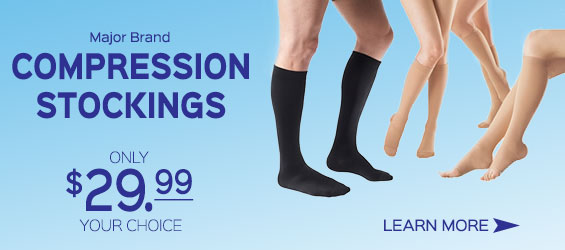 Discount Compression Stocking Sale