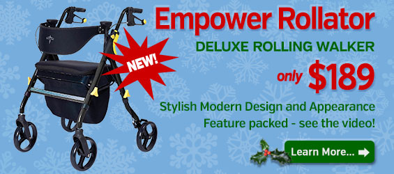 NEW Empower Rollator