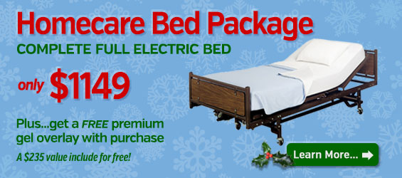 Full Electric Home Hospital Bed Package
