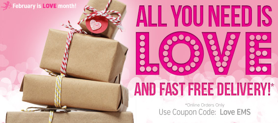 Love and Free Shipping