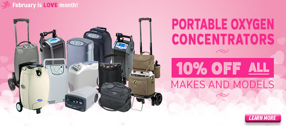 Price cut on all portable oxygen concentrators