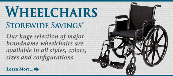 Store-wide savings on all wheelchairs